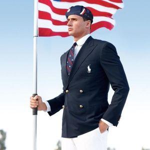 Ralph Lauren Olympic TEAM USA Blazer 2012 Navy 48R